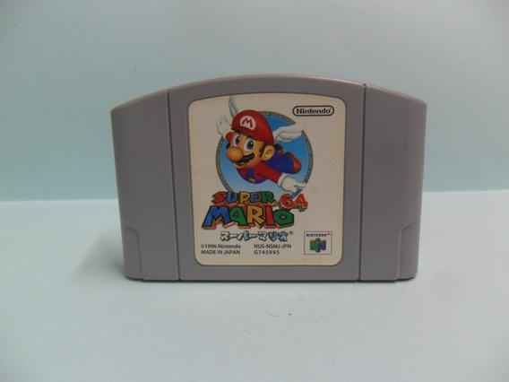 M001 Super Mario 64 - Nintendo 64 - Original - Japonês