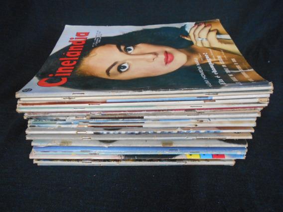 Revista Cinelândia - Décadas De 50/60 - 30 Volumes