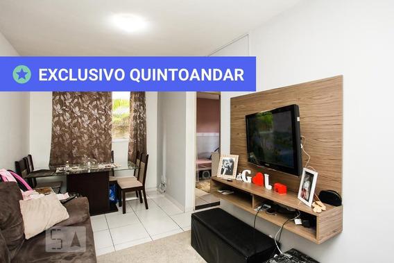 Apartamento No 1º Andar Com 2 Dormitórios E 1 Garagem - Id: 892959273 - 259273