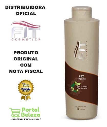 Botox Capilar 1 Lt Cravo E Canela - Fit Cosmetics
