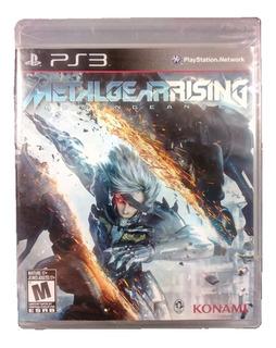 Playstation 3 - Ps3 Metal Gear Rising Revengeance