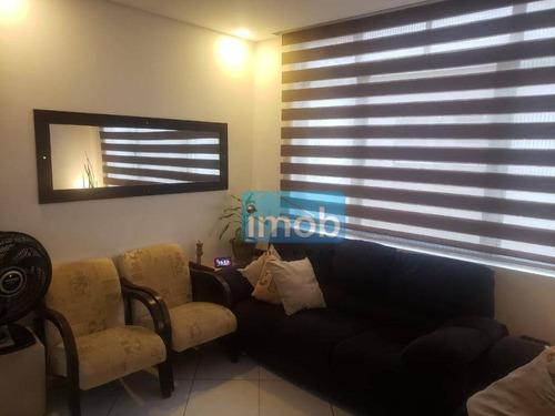 Imagem 1 de 17 de Apartamento Com 2 Dormitórios À Venda, 65 M² Por R$ 320.000,00 - Aparecida - Santos/sp - Ap7903