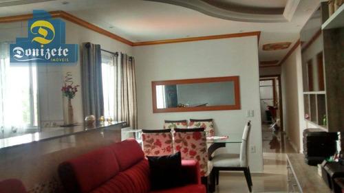 Cobertura À Venda, 150 M² Por R$ 640.000,00 - Vila Cecília Maria - Santo André/sp - Co1365