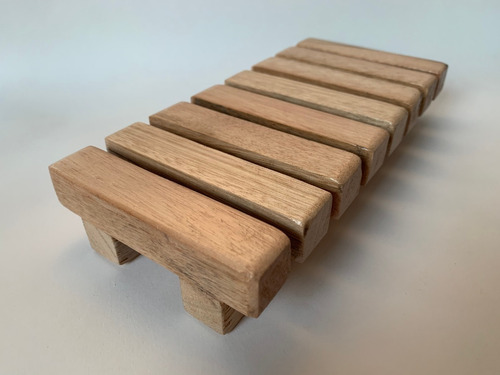 Jabonera Shampoo Solido (madera Eucalipto)