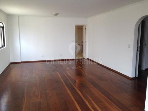 Imagem 1 de 15 de Apartamento: 153 M², 4 Dormitórios, 3 Suítes E 3 Vagas, Na Vila Madalena - Região: Pinheiros.  - Cf67240