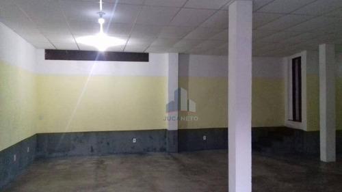 Salão Para Alugar, 80 M² Por R$ 1.800,00/mês - Jardim Ipê - Mauá/sp - Sl0121