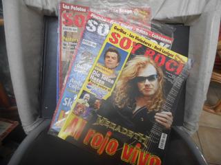 Revistas Soy Rock--lote 4 Nros.