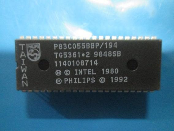 Circuito Integrado Philips P83c055bbp/194