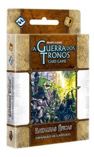Batalhas Épicas - Expansão - A Guerra Dos Tronos: Card Game