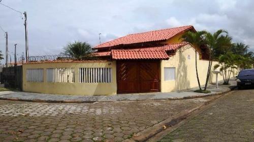 Linda Casa De Esquina Lado Praia Em Itanhaém - 3988   Npc