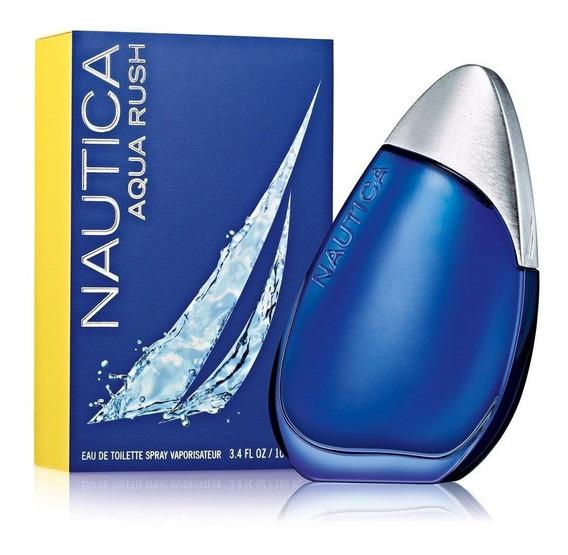 Aqua Rush De Nautica Eau D Toilette 100 Ml Perfume Hombre