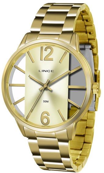 Relógio Feminino Lince Casual Lrg608lc2kx