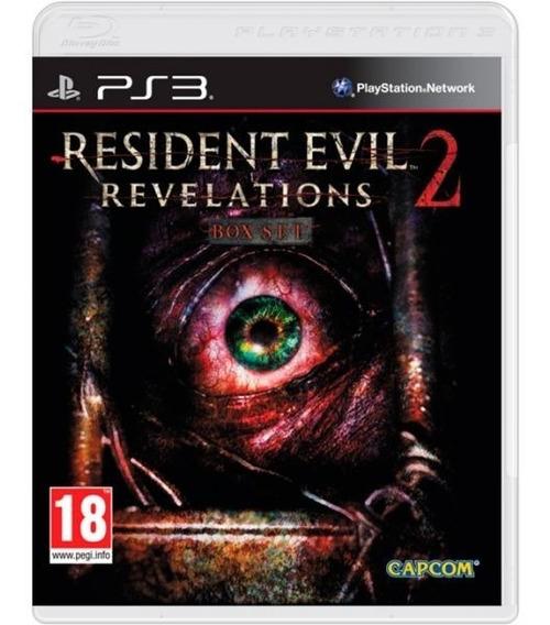 Resident Evil Revelations 2 - Mídia Física / Ps3
