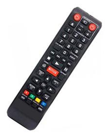 Controle Tv Samsung Ak59-00153a Bd-e5300 Netflix - Novo