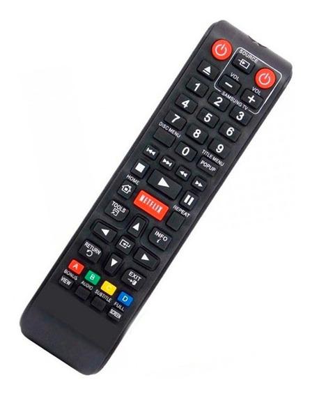 Controle P/ Blu-ray Tv Samsung Ak59-00153a Bd-e5300 Netflix