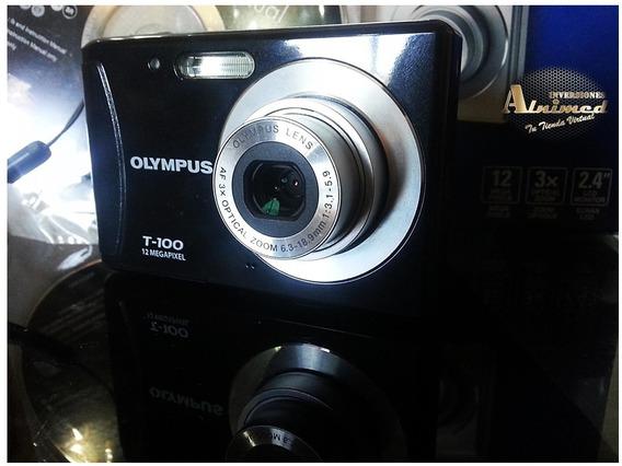 Camara Fotografica Y Video Olympus T100 30$ Vendo O Cambio