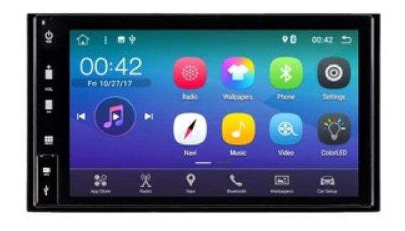 Smartmedia Central Multimídia Android Orbe X C/ Câmera De Ré