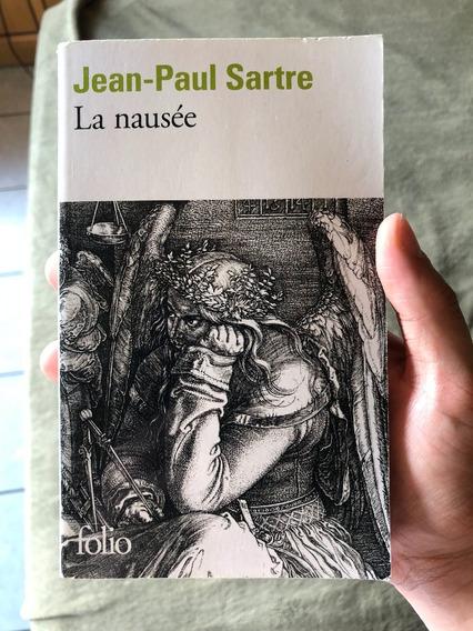 Livro La Nausée Jean-paul Sartre Em Francês