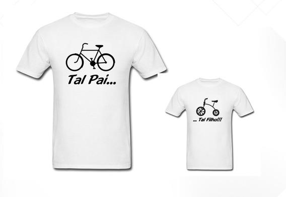 Camiseta Tal Pai, Tal Filho Bike