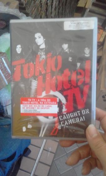 Dvd Tokio Hotel - Caught On Camera (lacrado!)