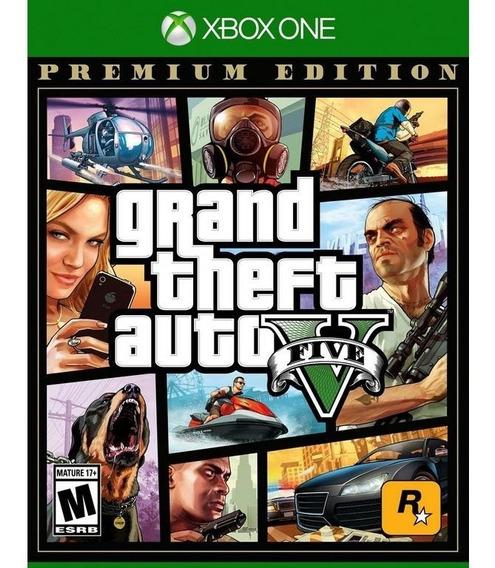 Grand Theft Auto V Gta V Premium Edition Xbox One Lacrado Rj
