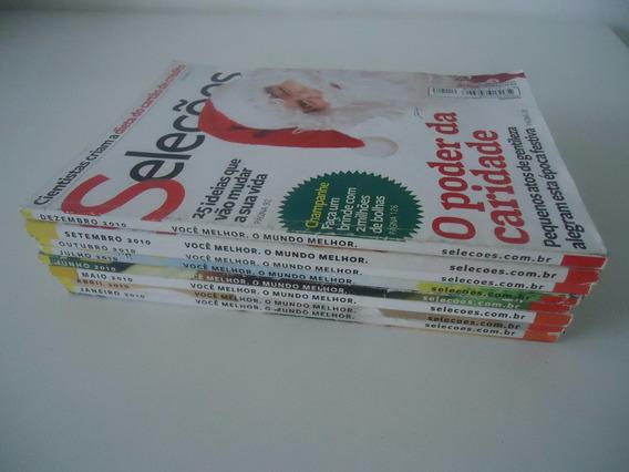 5 Revistas Seleções Ano 2010