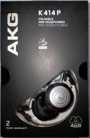 Fone Para Retorno Palco Profissional Akg K414 P Headphone Original