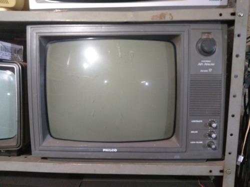 Tv Philco 17 Polegadas P&b Retrô