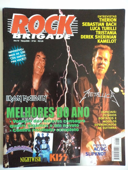 Revista Rock Brigade Ano 19 - N 164