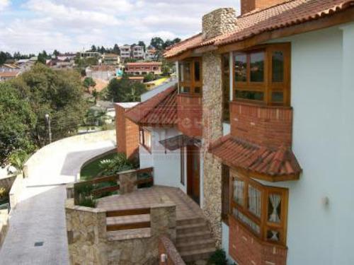 Imagem 1 de 22 de Condominio Arujazinho - Ampla Casa Com 4 Suites + 5 Vagas - 370