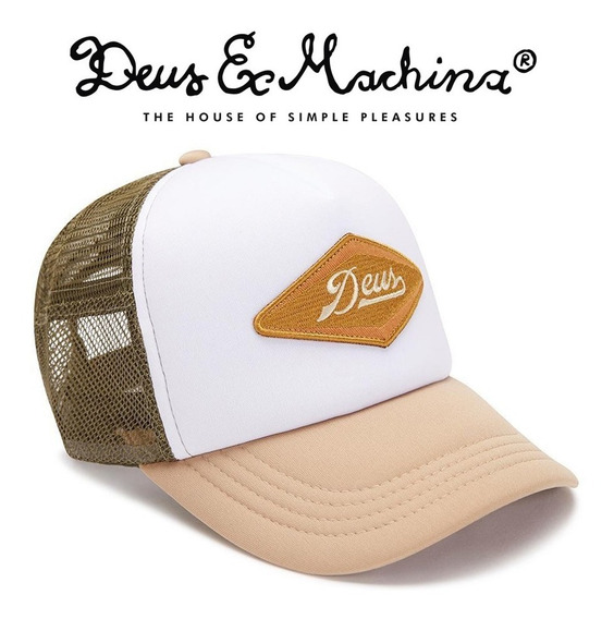 Gorra Deus Ex Machina · Diamond Trucker Hat · 100% Original