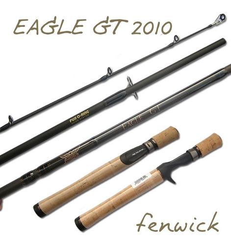 Caña Fenwick  Eagle Gt 1,98 Mts 1 Tr 10-25 Lb+tubo Pvc