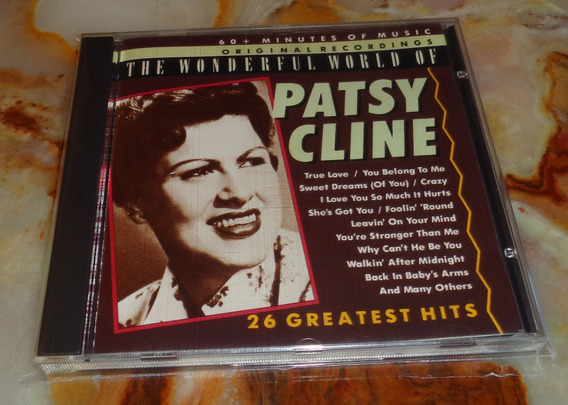 Patsy Cline - 26 Greatest Hits - Cd Portugal