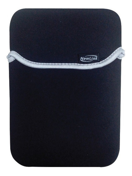 Capa Case P/ Tablet 7 Polegadas Soft Neoprene Preta Newlink