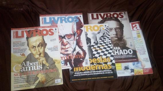 Revista Entrelivros (4 Edições) E Revista Escola