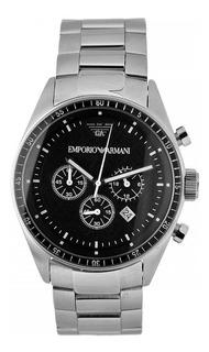 Reloj Emporio Armani® Ar0585 Cronometro Original.