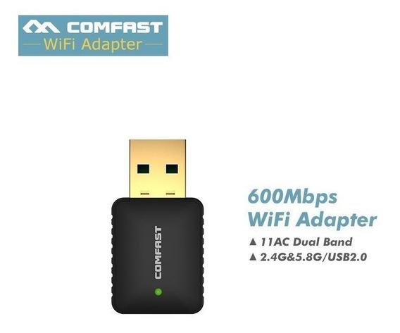 Adaptador Inalámbrico Wifi 600 Mbps Usb 2,4 Ghz Ap Mode