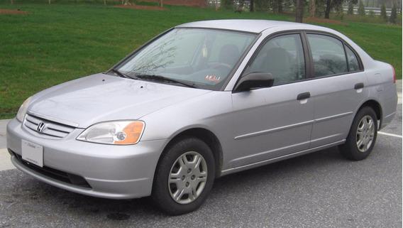 Sucata Honda Civic Lx 1.7 2002/05 Vendido Em Peças