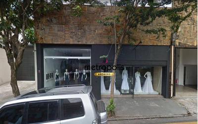 Galpão Para Alugar, 150 M² Por R$ 4.500/mês - Centro - São Caetano Do Sul/sp - Ga0072