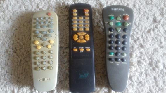Lote De Controles-tv Diversos Antigos Aproveitem!!!