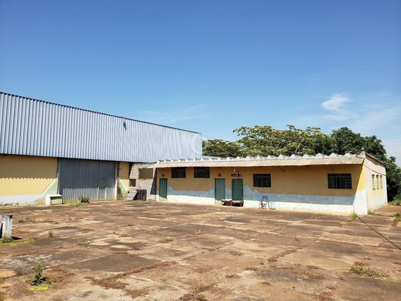Galpão Para Aluguel, , Distrito Industrial Dr. Edgard A. Beolchi - Cedral/sp - 37