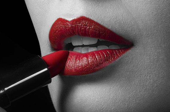 Batom Esmalte Sombra Beleza Facial Kit 10 Peças Promoção Fg
