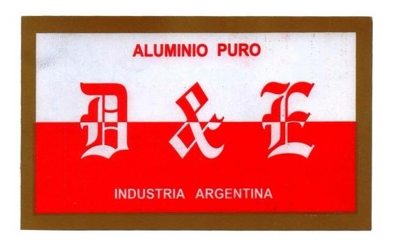 Cacerola Gastronómica 34 15lts Aluminio D&e