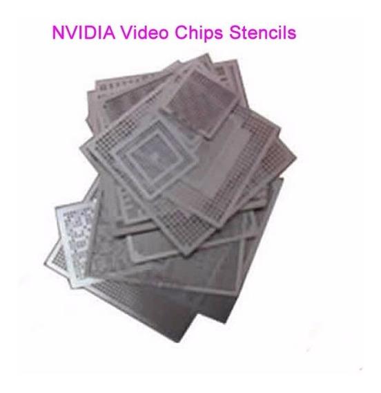 Stencil Nvidia 36 Pcs Calor Diretamente Reball Reballing Bga