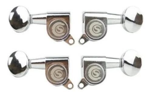 Imagem 1 de 1 de Tarraxa Custom Sound Para Ukulele