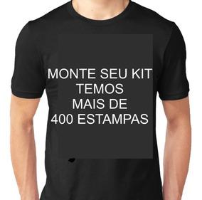 Camisa Masculina Algodão Premium Kit Com 4 Unidades = Frete
