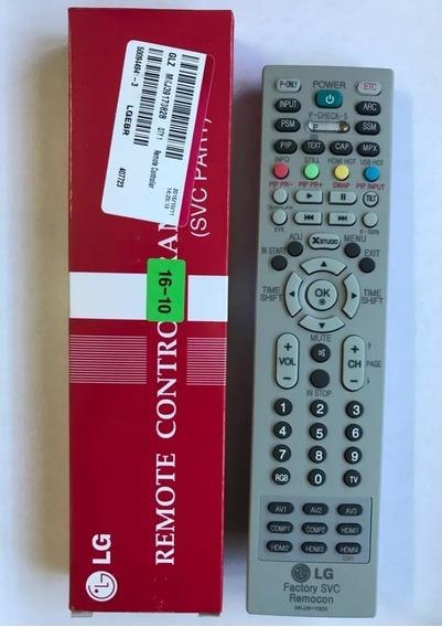 Controle De Serviço Tv Lg Factory Svc Mkj39170829 Original