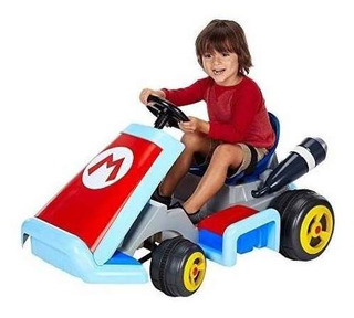 Nintendo World Of Super Mario Kart Deluxe 12v Con Bateria Ri