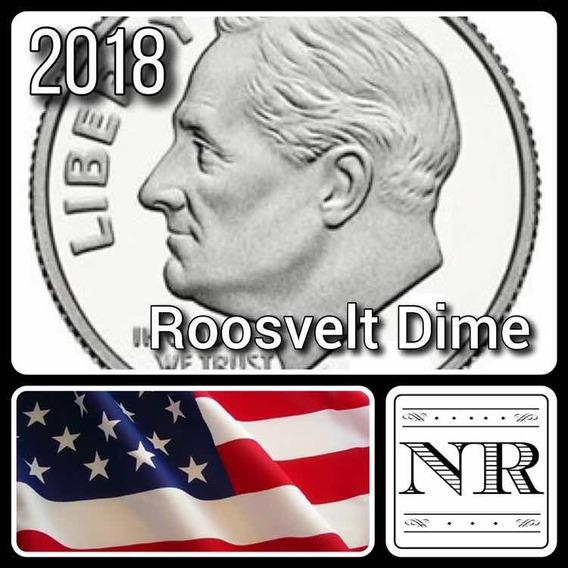 Dime 2018 P & D - 10 Cent Dolar - Eeuu - Roosvelt