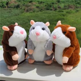 Hamster Falante Pelucia Novo E Importado!!